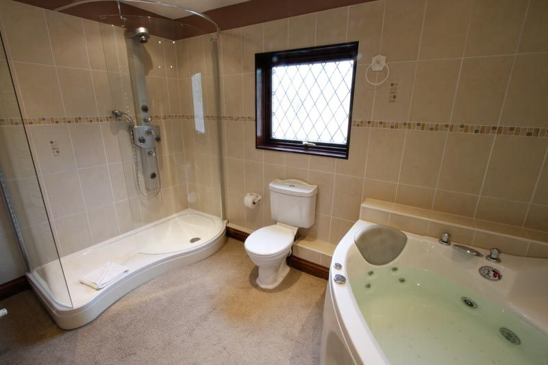 Bath, toilet and shower, Ensuite Bathroom, Master Bedroom