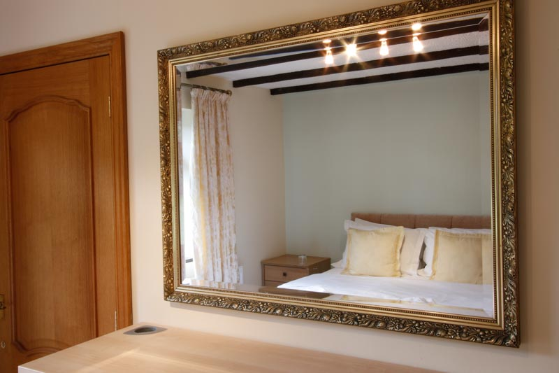 Mirror in King Size Bedroom