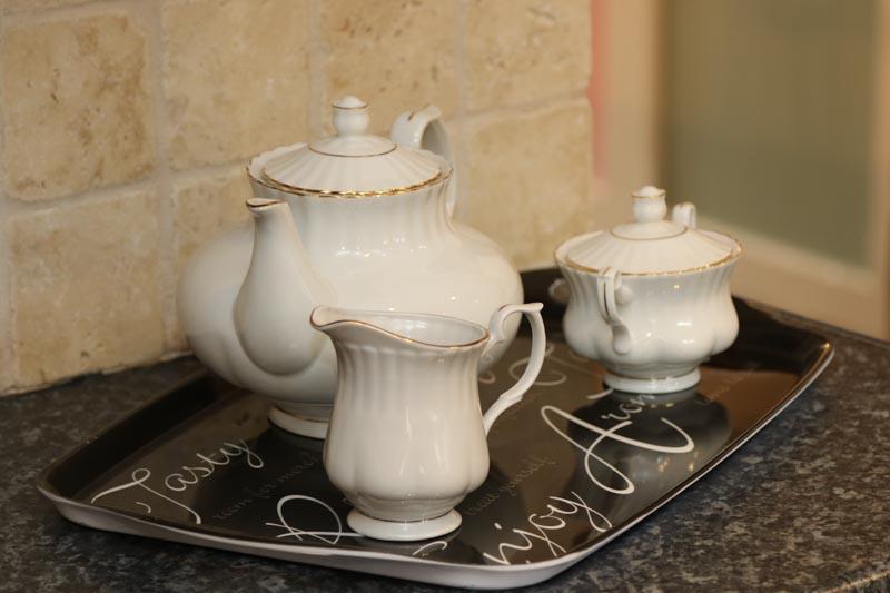 Tea making set provided