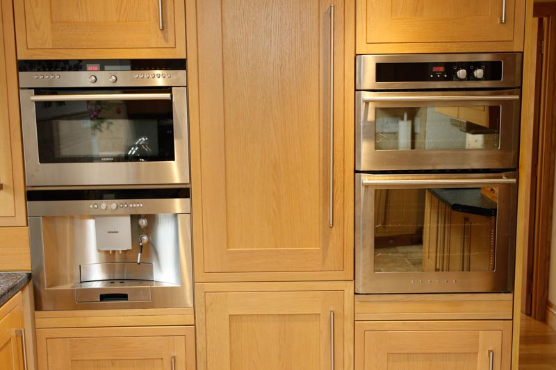 Two ovens in the Kitchen