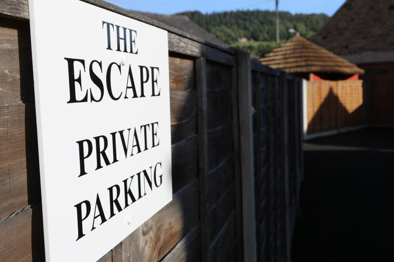Private Parking at The Escape