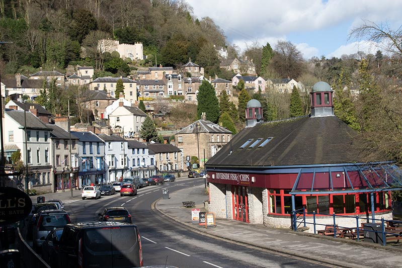 accommodation near matlock bath music festival